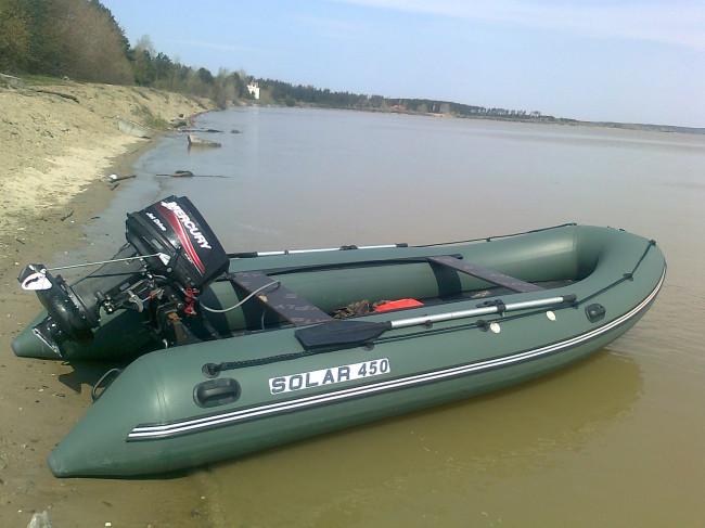 моторные лодки Солар