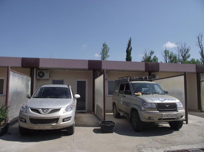 Мотель на подъезде к Тбилиси