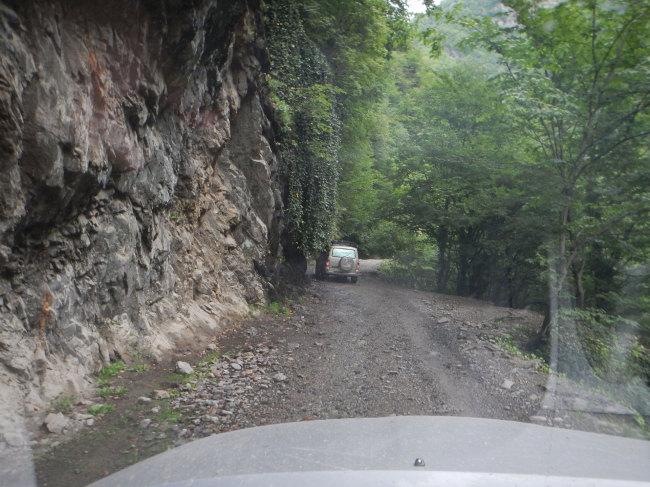 Фантастическая дорога в Омало